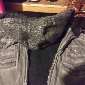 BKE black jean jacket